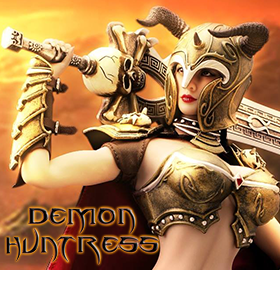 1/6 SCALE DEMON HUNTRESS FIGURE