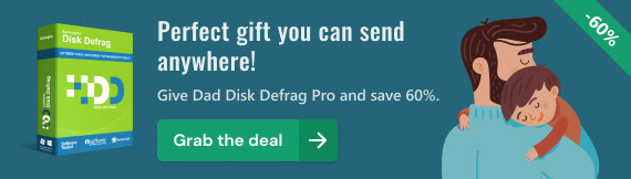 Auslogics Disk Defrag Discount Coupon Father's day Special Offer