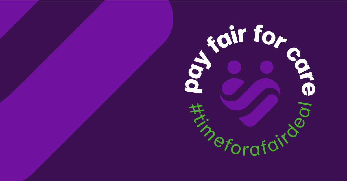 pay fair for care graphic