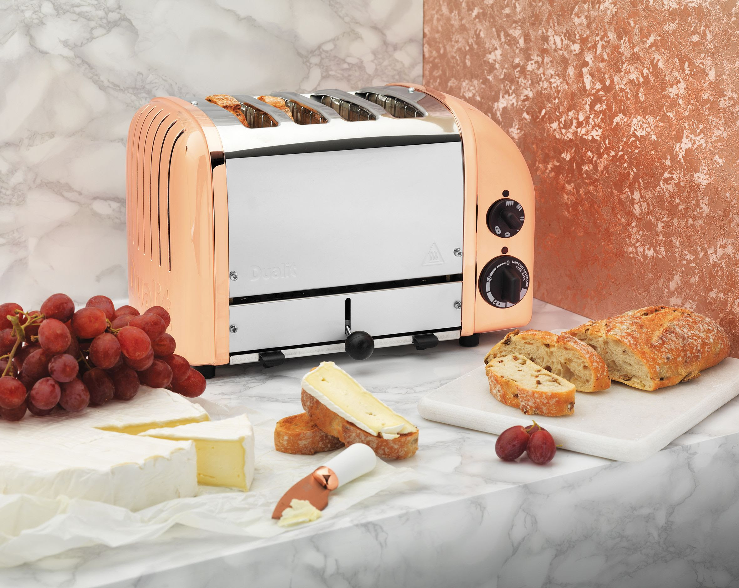 Dualit Classic Toaster with Rose Gold Finish LS