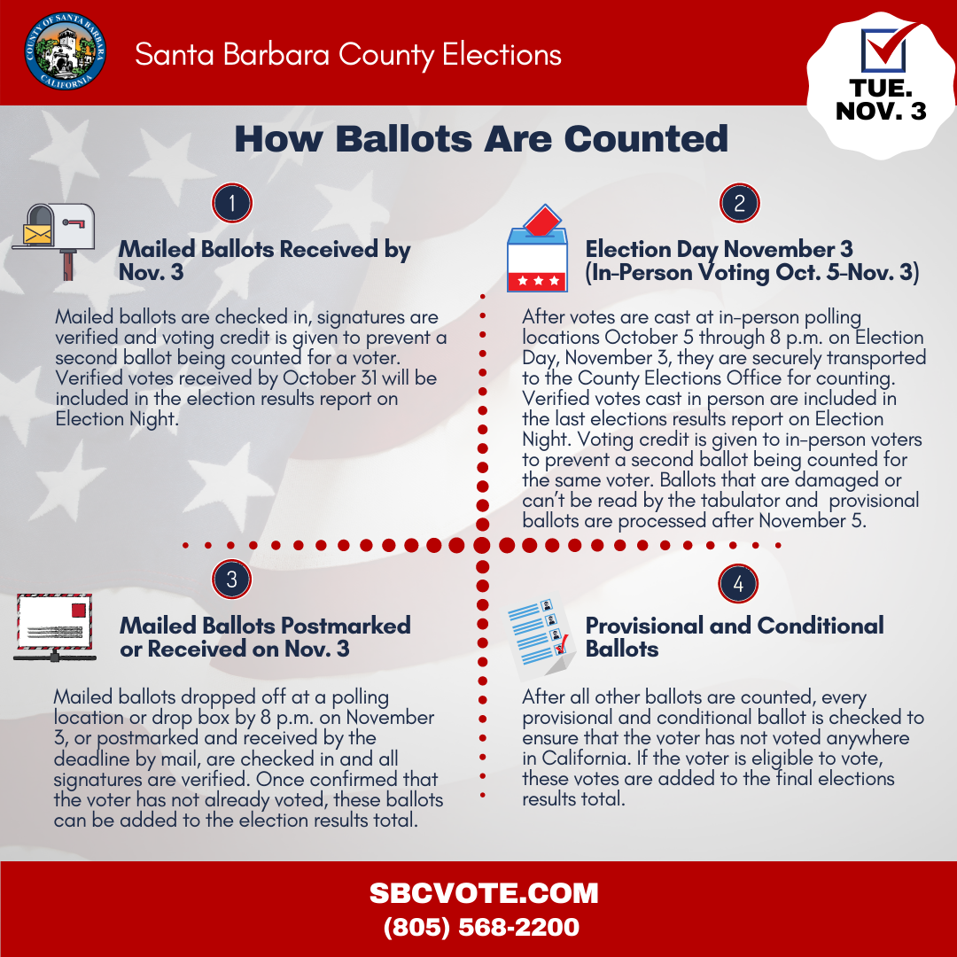 How Ballots are Counted graphic