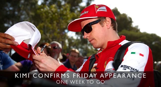 Kimi confirms Friday appearance