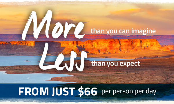 From just $66 per person per day
