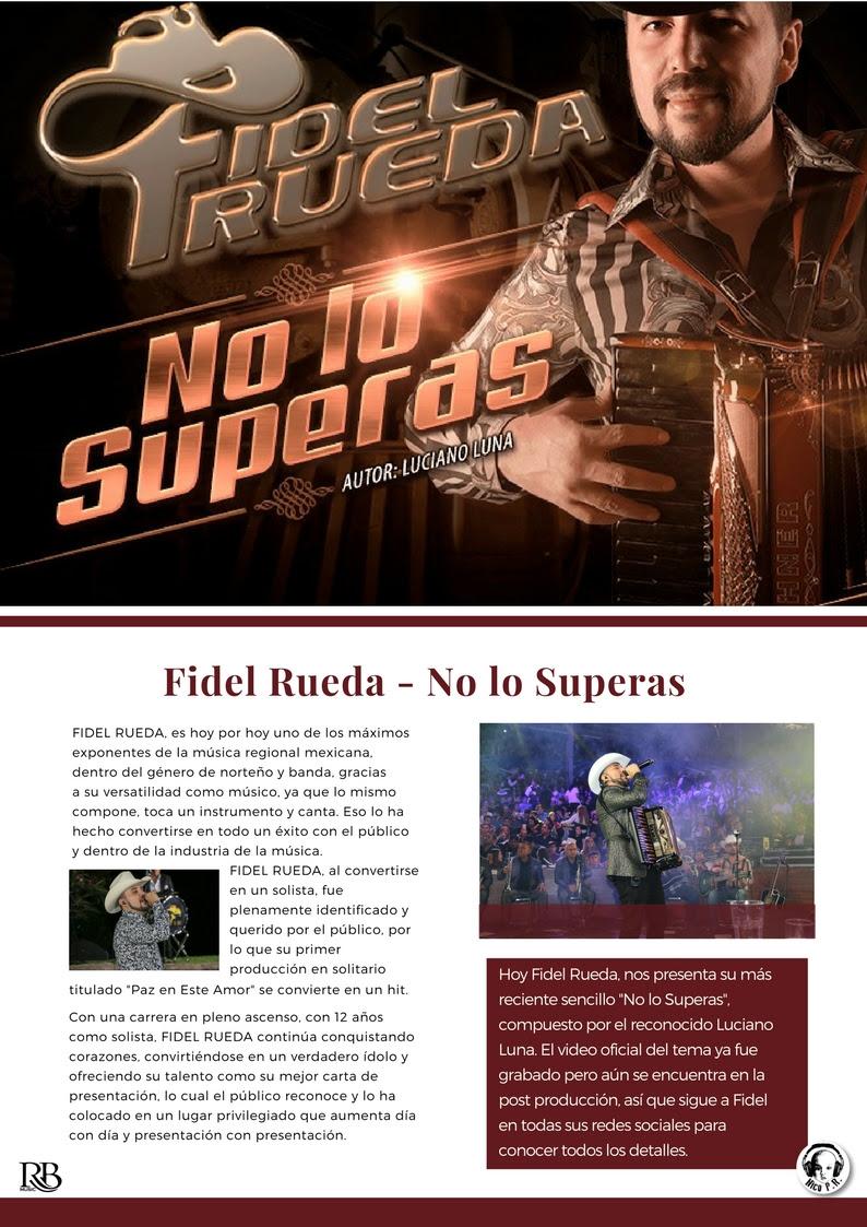 Fidel Rueda / No lo superas