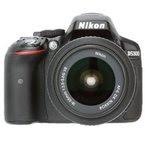 Nikon D5300 24.1MP Digital SLR Camera (Black) with 18-55mm VR Kit Lens