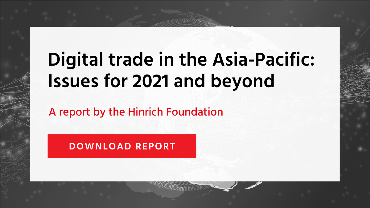 Digital trade in Asia-Pacific