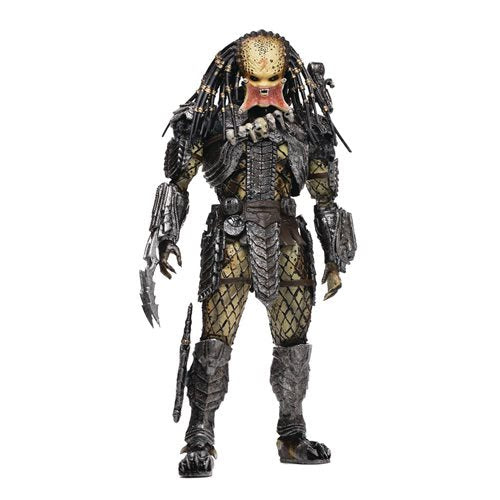 Image of AVP: Alien vs. Predator Unmasked Scar Predator 1:18 Scale Action Figure - Previews Exclusive - JULY 2021