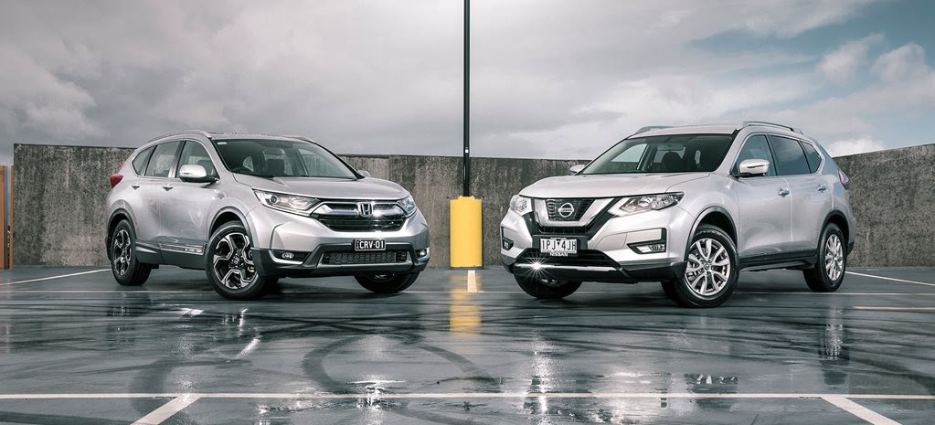 CR-V and X-Trail Comparison Test