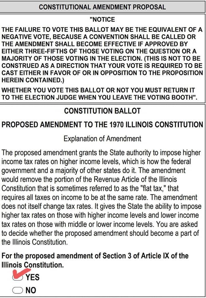 Fair Tax Vote Yes