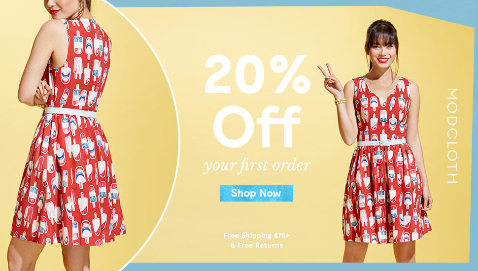 Latest from ModCloth :: 30% of...