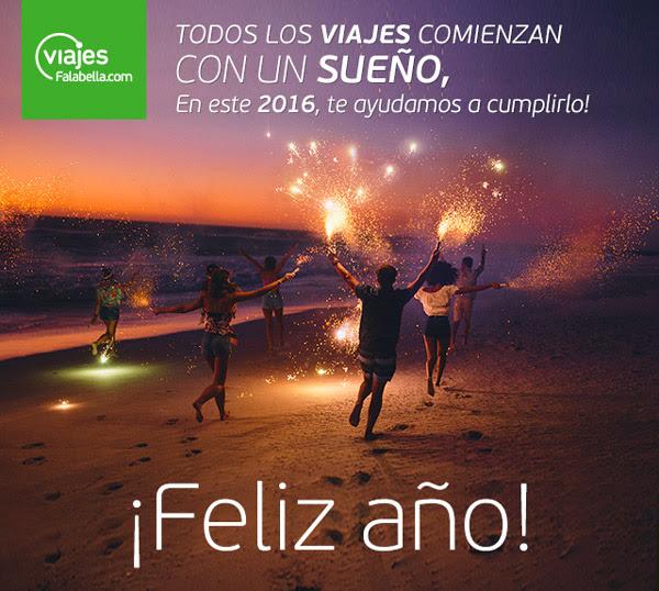 Todos los viajes comienzan con un sueño, FELIZ 2016!