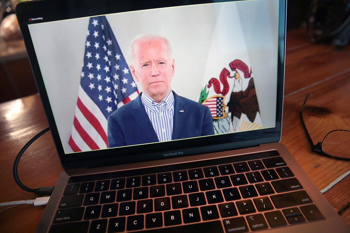 Inside Joe Biden's bizarre coronavirus bunker