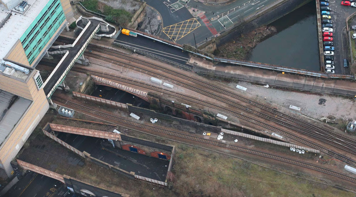 Reminder of final road closure for restoration of Manchester city centre bridges