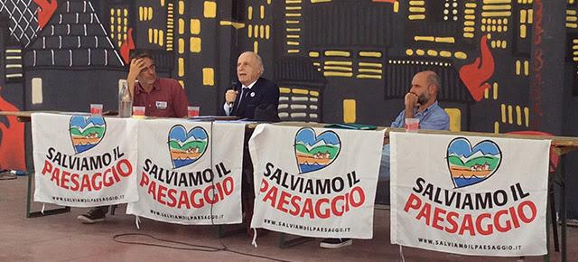 Da sinistra: Claudio Arbib, Paolo Maddalena e Alessandro Mortarino