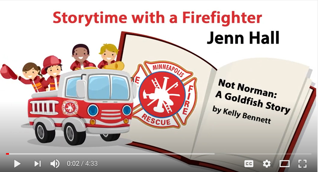 storytime with a firefighter