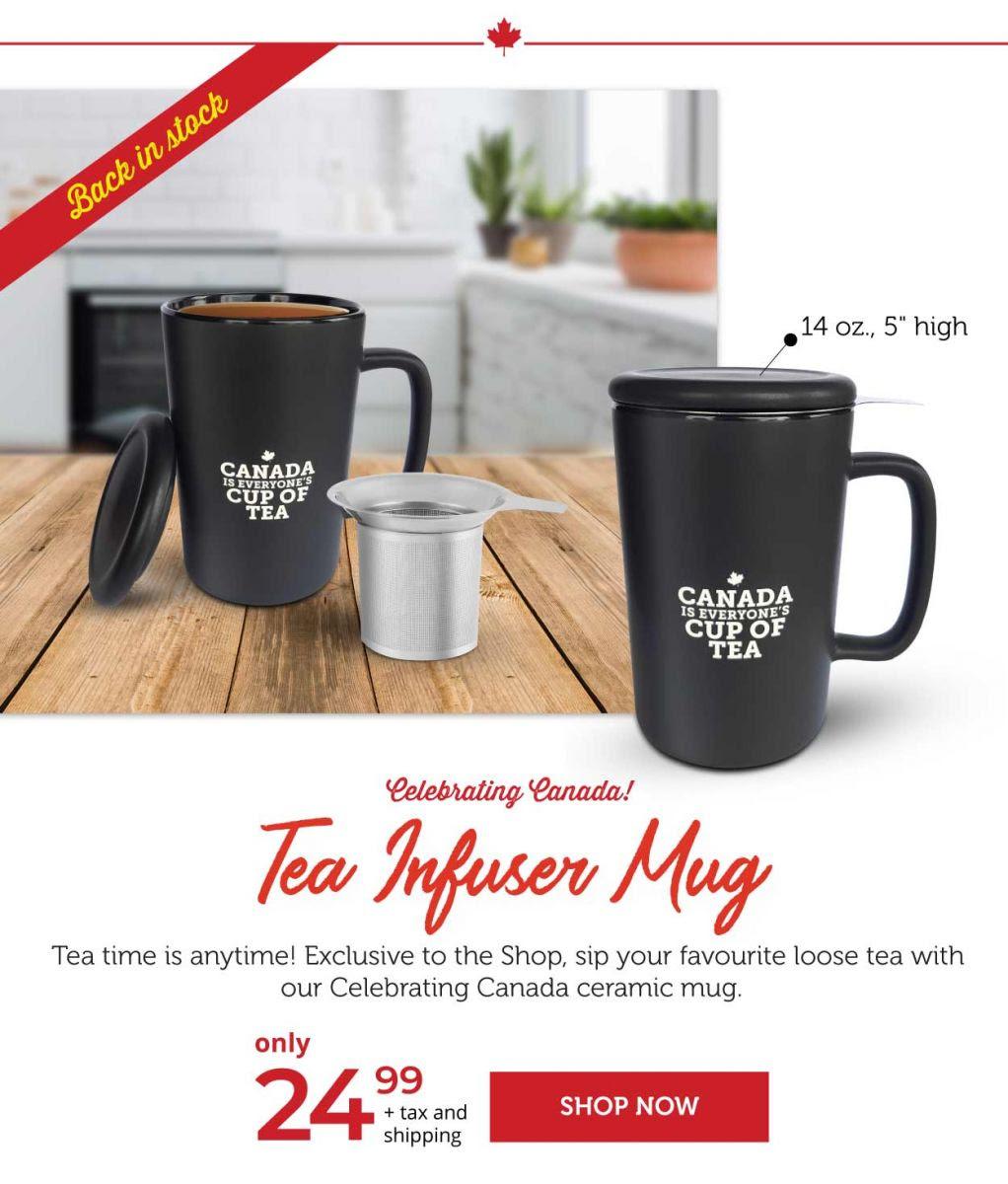 Tea Infuser Mugs