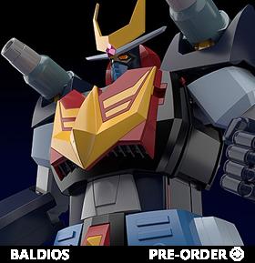 Space Warrior Baldios Moderoid Baldios Model Kit