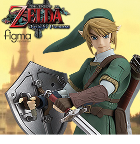 TWILIGHT PRINCESS FIGMA NO.320 LINK DX