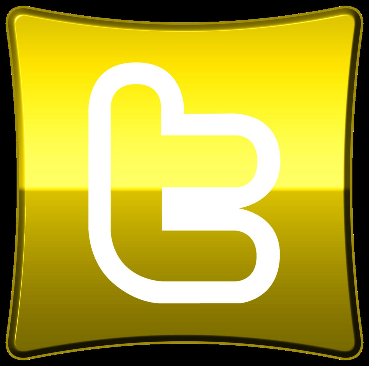 YellowTwitterButton