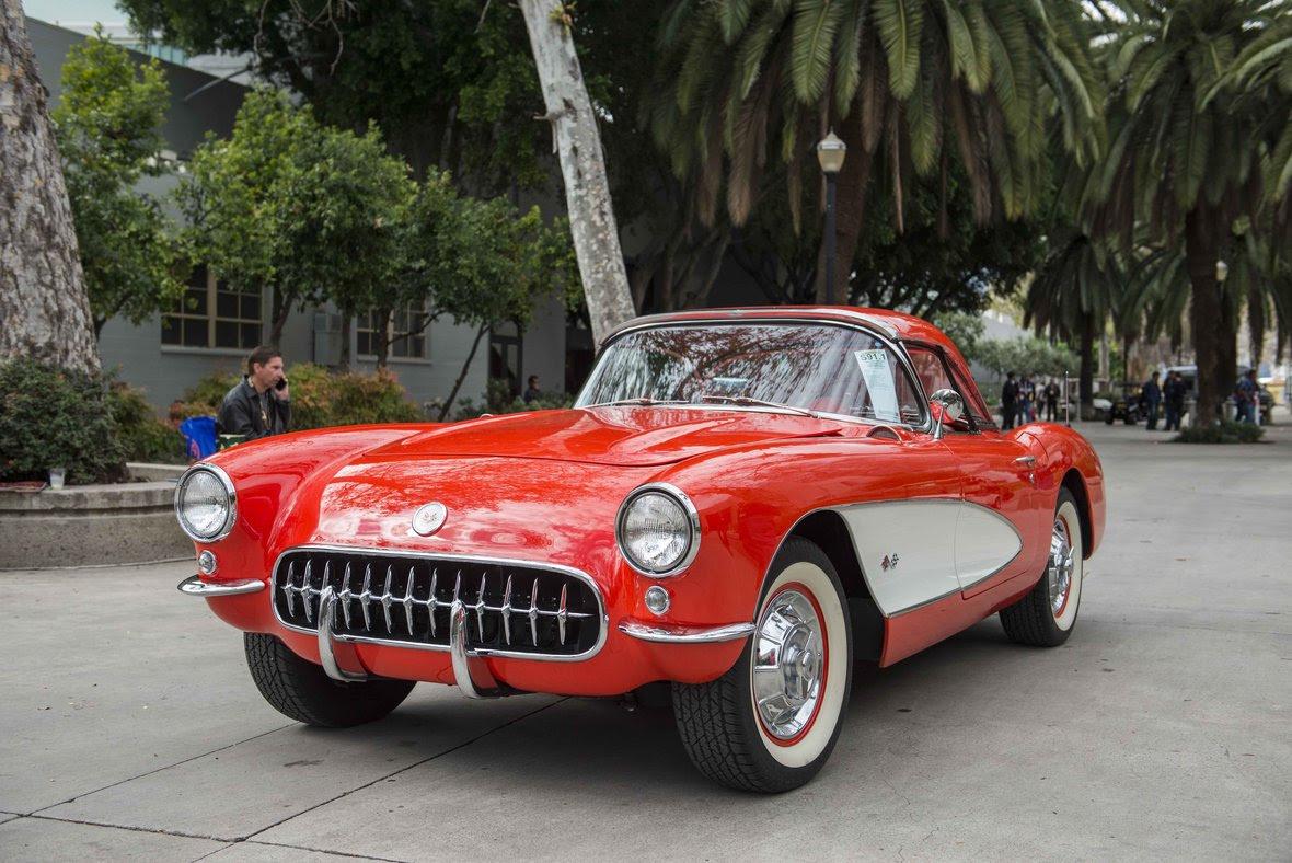 mecum 57 Corvette Convertible
