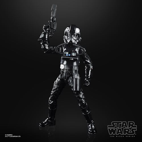 Image of Star Wars The Black Series Empire Strikes Back 40th Anniversary 6-Inch TIE Fighter Pilot Action Figure Wave 2 - AUGUST 2020