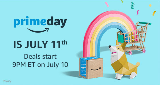Get Ready for Prime Day - July...