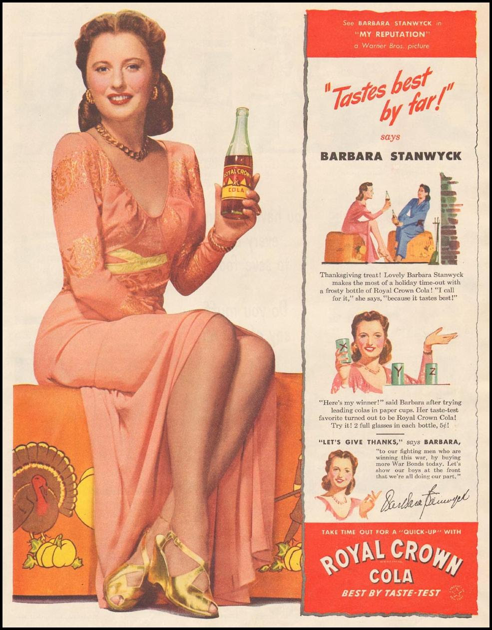 ROYAL CROWN COLA LIFE 11/13/1944 p. 77