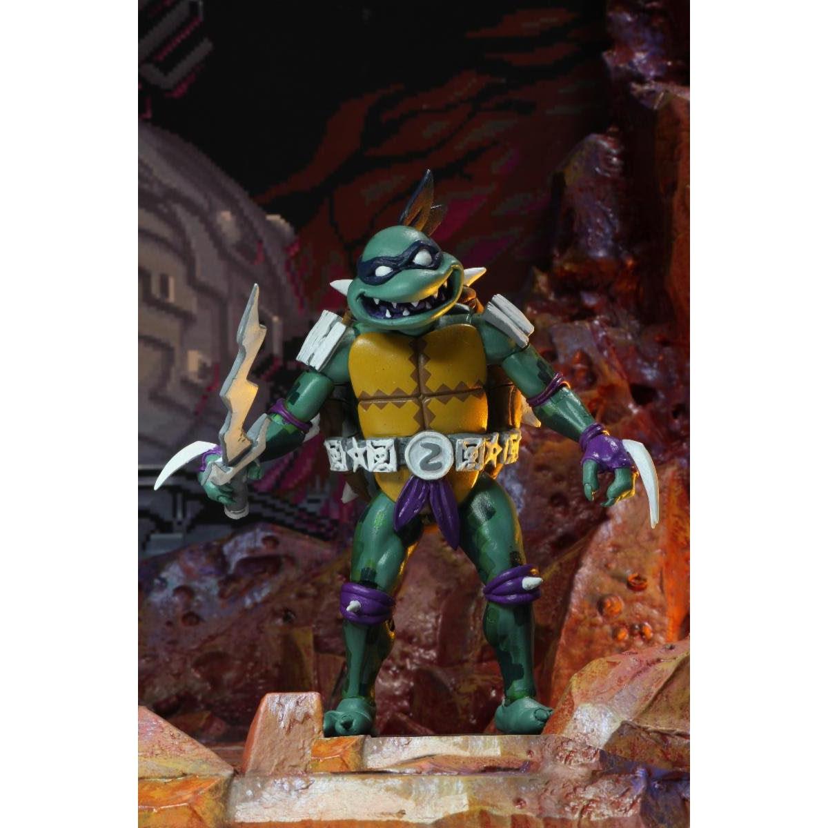 "Image of TMNT: Turtles in Time - 7"" Scale Action Figures - Slash - BACKORDERED APRIL 2020"