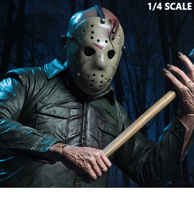 FRIDAY THE 13TH: FINAL CHAPTER 1/4 SCALE JASON FIGURE