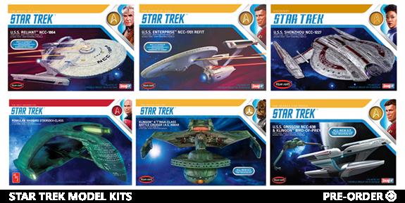 Star Trek Model Kits