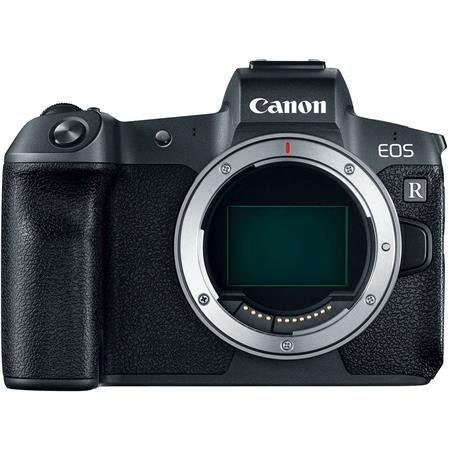 EOS R Mirrorless Full Frame Digital Camera Body - Black