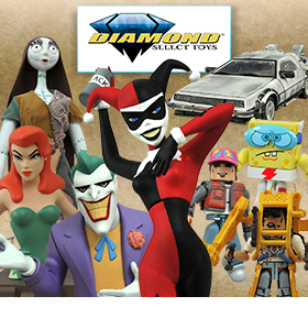 NEW FROM DIAMOND SELECT TOYS