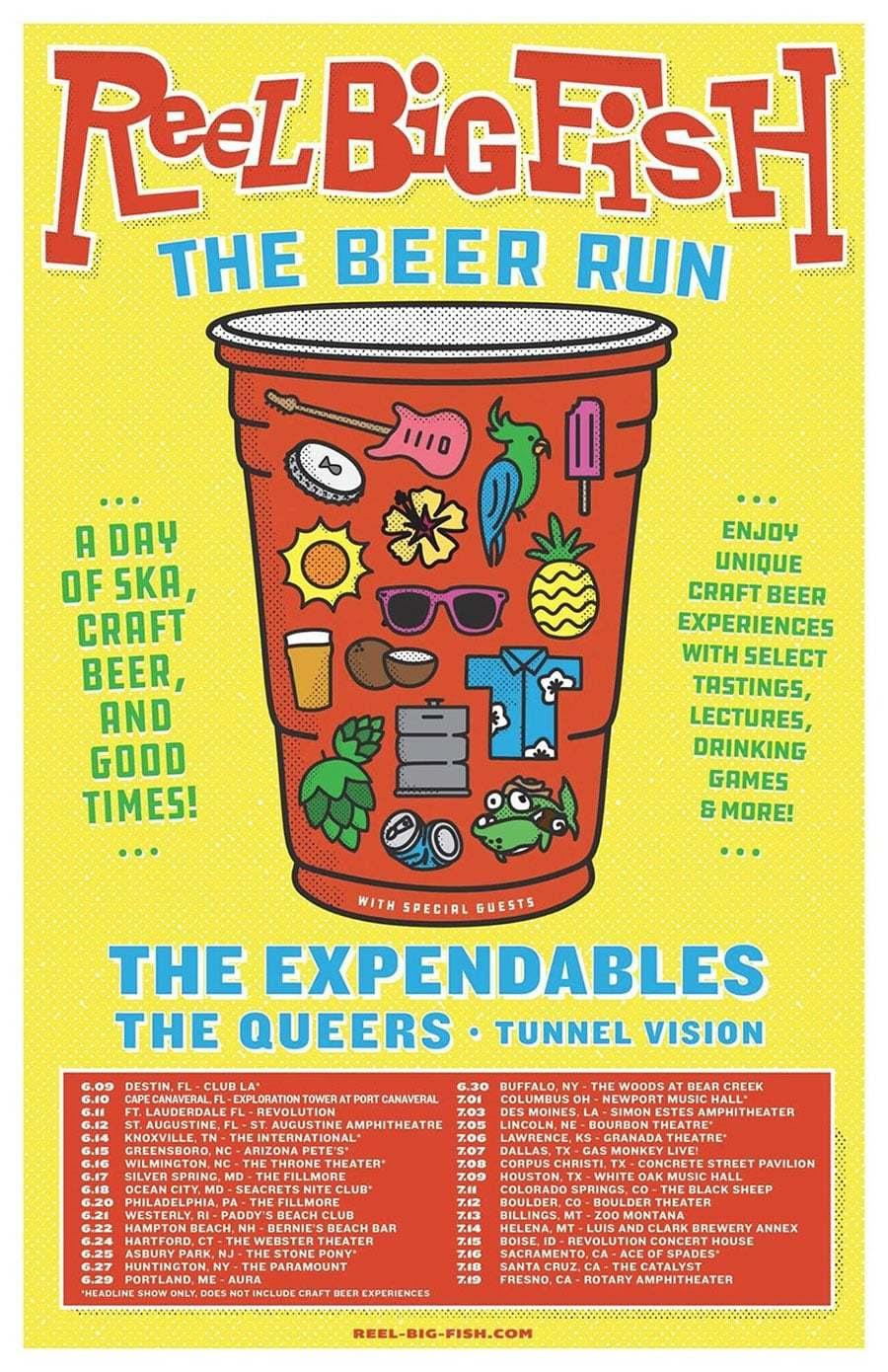 reel big fish beer run