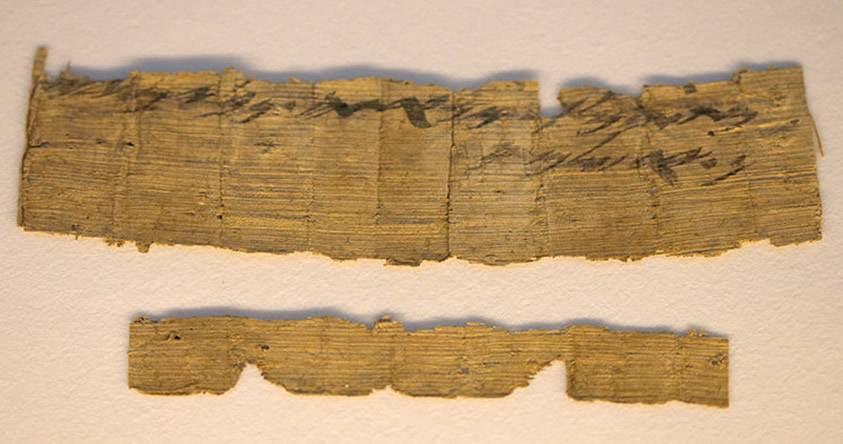 Descubren un papiro que 3.000 años que hace mención de Jerusalén