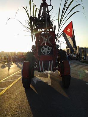 En Guantánamo se festejó este Primero de Mayo el cumplimiento del plan de azúcar, segunda provincia del país tras Ciego de Ávila. Foto; Haydée León Moya/Tomada de Facebook
