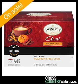 Pumpkin Spice Chai Keurig K-cup tea