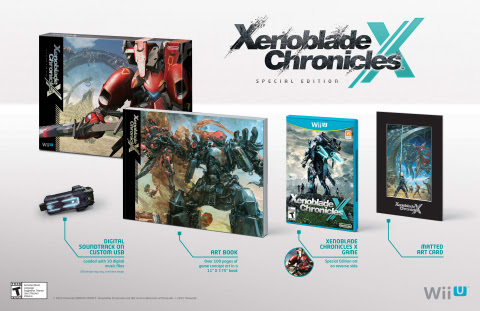 Unique to North America, this Xenoblade Chronicles X Special Edition is now available for pre-order  ...