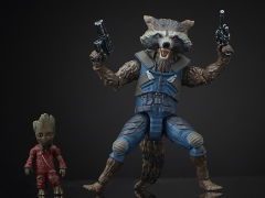 GOTG VOL. 2 MARVEL LEGENDS ROCKET RACCOON & GROOT