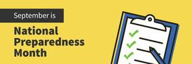 SBA National Preparedness Month
