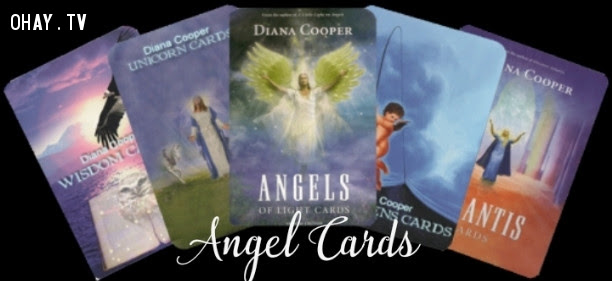 2. Bài thiên thần (Angel Cards),tâm linh,công cụ bói toán,bài tarot,bàn cầu cơ