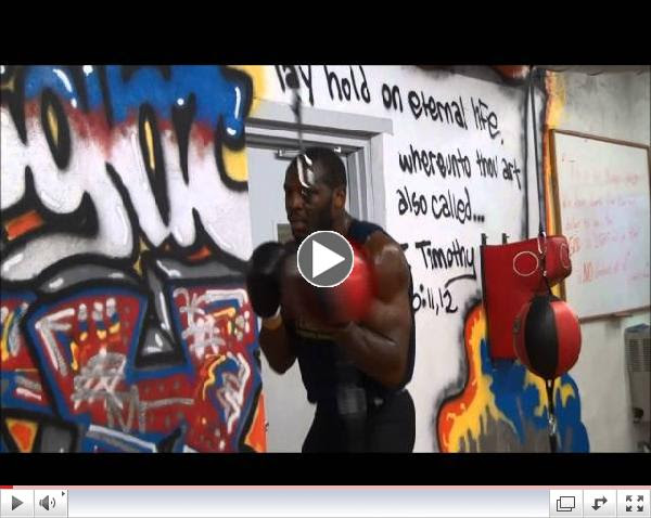Steve Cunningham Workout 031914