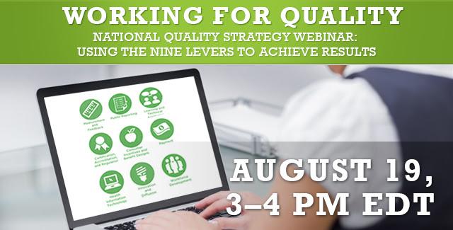 National Quality Strategy Webinar