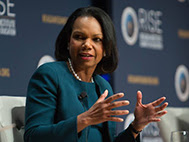 Image of Condoleezza Rice at RISE 2018