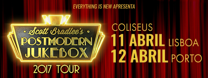 Scott Bradlee's Postmodern Jukebox em Portugal nos Coliseu de Lisboa e Porto