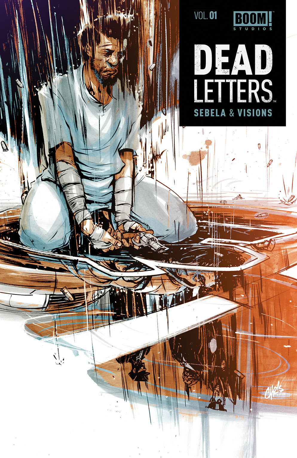 DEAD LETTERS VOL. 1 TP Cover by Chris Visions