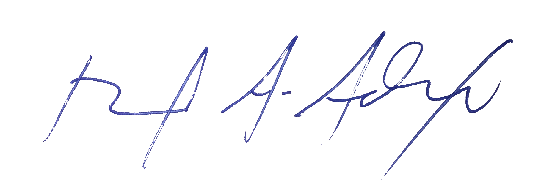Superintendent of Ascension Public School David Alexander Signature
