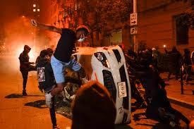 De Los Ángeles a Washington DC, las fotos de otra noche de violencia y caos  en Estados Unidos - Infobae