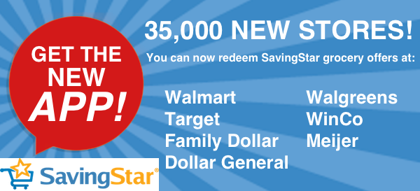 SavingStar Has Added New Store...
