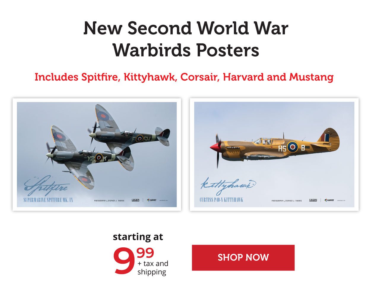 Commemorative Posters from the Second World War