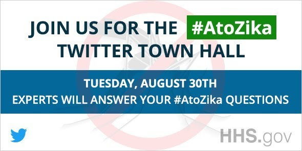 Join us for the A to Zika Twitter Town Hall